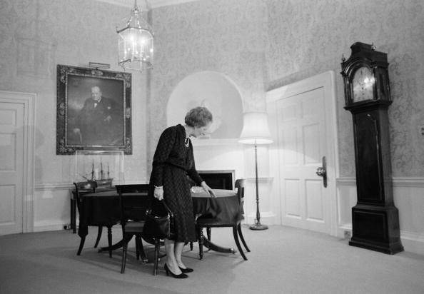 <p>It was a rarity to see Thatcher without a handbag during her time at 10 Downing Street. The soft leather bags stood as a symbol of her conservative style and were prized possessions in her closet. <br>Her favorite Asprey bag sold at a Christie's for £25,000 in June 2011. </p>
