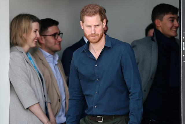 Prince Harry has been open about his mental health struggles. (Getty Images)