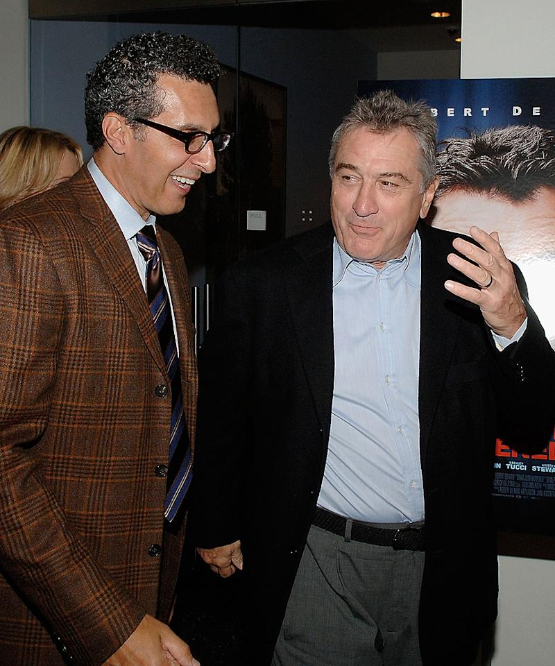 """<a href=""""http://movies.yahoo.com/movie/contributor/1800021684"""">John Turturro</a> and <a href=""""http://movies.yahoo.com/movie/contributor/1800010759"""">Robert DeNiro</a> at the New York premiere of <a href=""""http://movies.yahoo.com/movie/1809739709/info"""">What Just Happened</a> - 10/01/2008"""