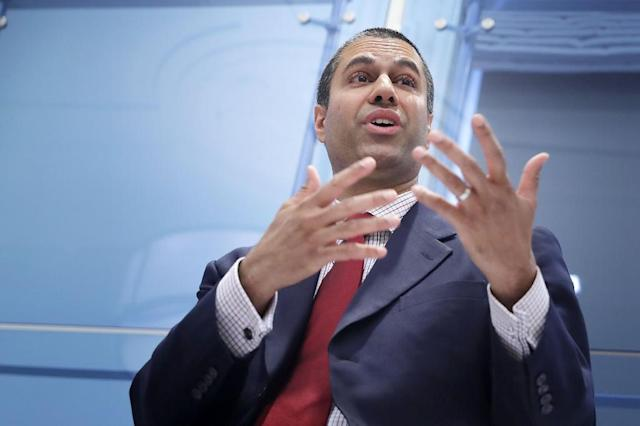 Federal Communication Commission chairman Ajit Pai argues that internet platforms like Twitter represent a threat to online freedom of speech (Photo: AFP).