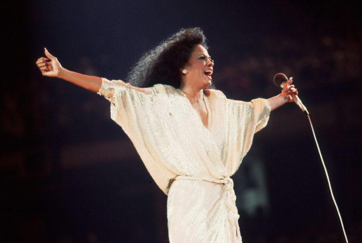 Diana Ross was an inspiration to countless generations through music. (Photo by Getty Images)