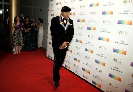 Kennedy Center Honoree rapper LL Cool J arrives for the Kennedy Center Honors in Washington, U.S., December 3, 2017. REUTERS/Joshua Roberts