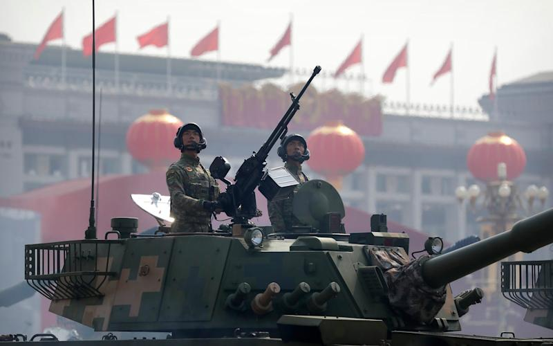 Some of the Chinese universities in question are ultimately controlled by Beijing or its military - AP