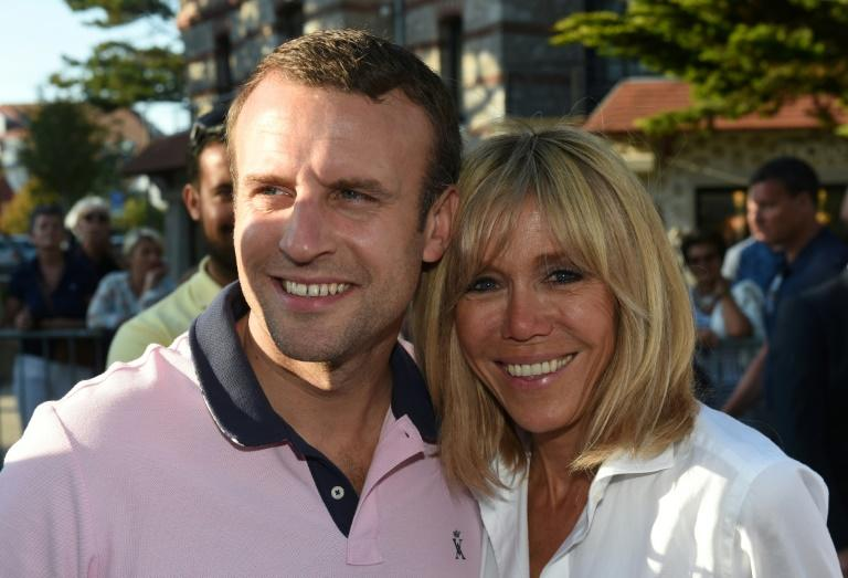 French President Emmanuel Macron is married to his 64-year-old former teacher Brigitte, whom he fell for as a teen
