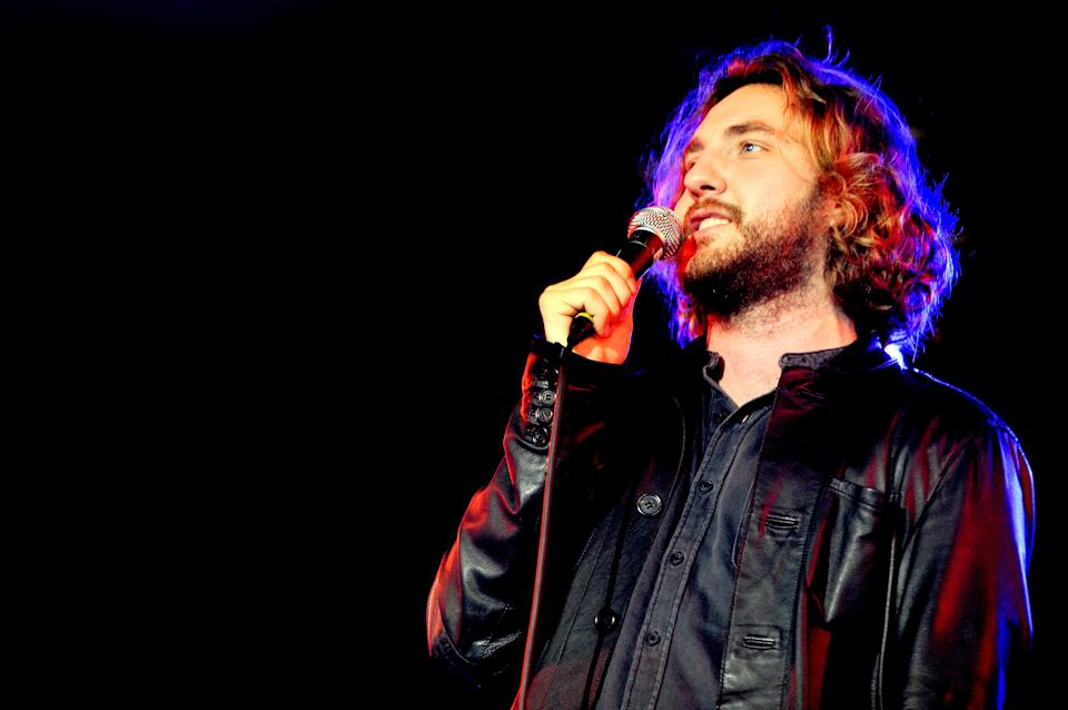 LEEDS, ENGLAND - AUGUST 28:  Comedian Seann Walsh performs on Day 2 of the Leeds Festival at Bramham Park on August 28, 2015 in Leeds, England.  (Photo by Shirlaine Forrest/WireImage)