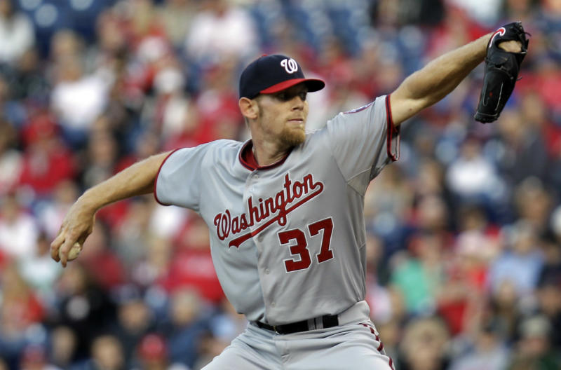 Nats rally to beat Phils, get Strasburg off hook