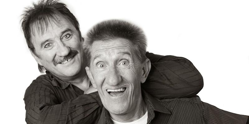 'ChuckleVision' entertainers Barry and Paul Chuckle