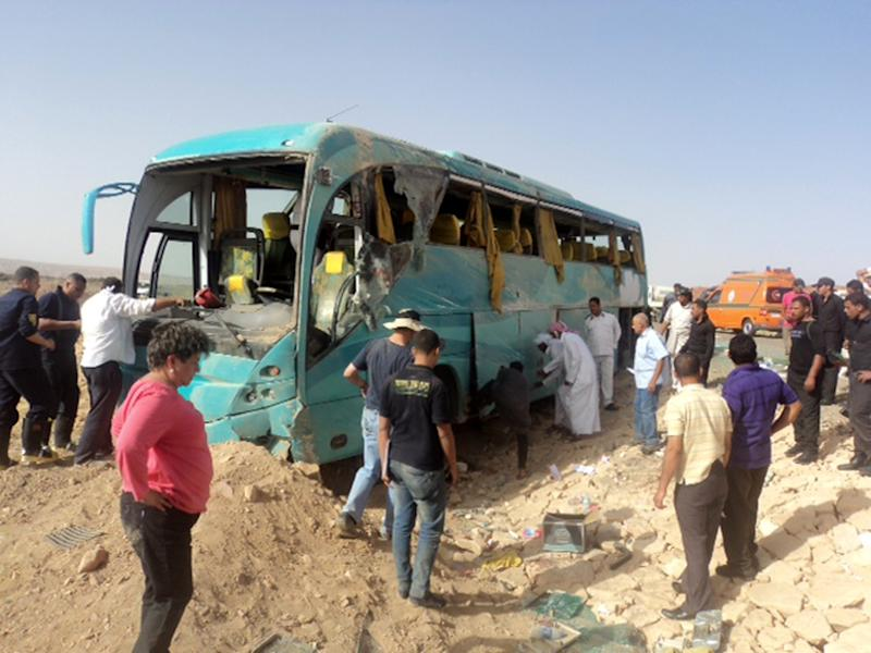 6 Mexican tourists killed in Egypt bus accident