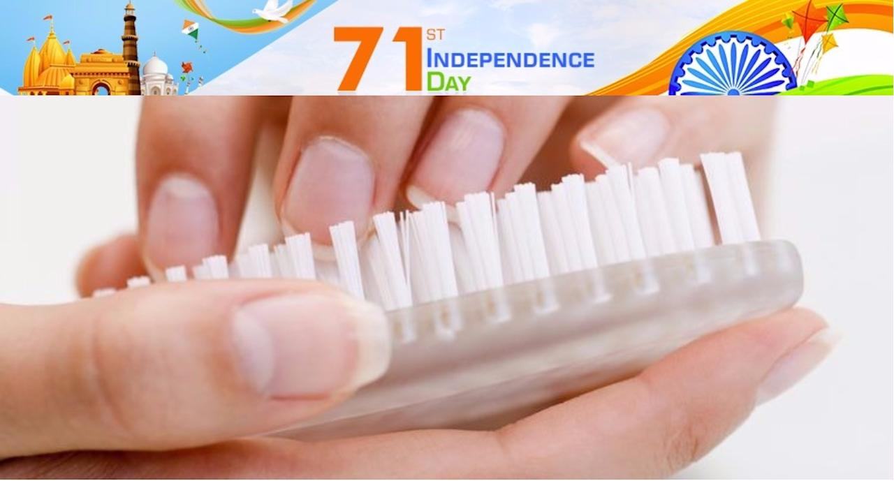 <p>Clean nails are the basis to having a healthy tummy and avoiding all those infections which can be contracted from dirty nails as they contain a lot of harmful germs.<br />http://classroom.synonym.com/clean-nails-professionally-14620.html </p>