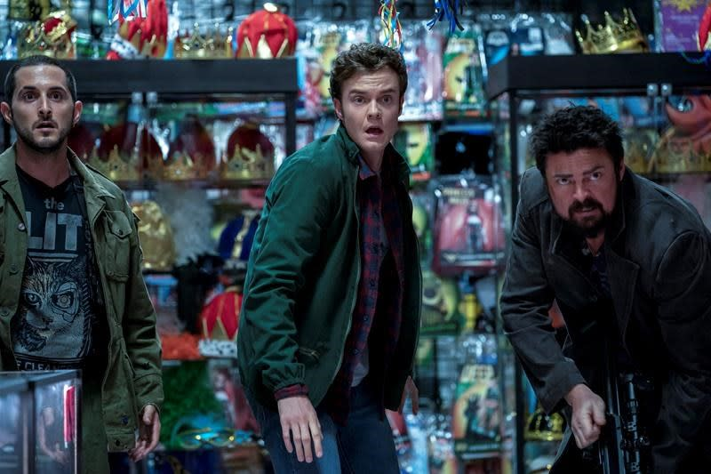 Season 2 of Amazon hit 'The Boys' finds team on run from law