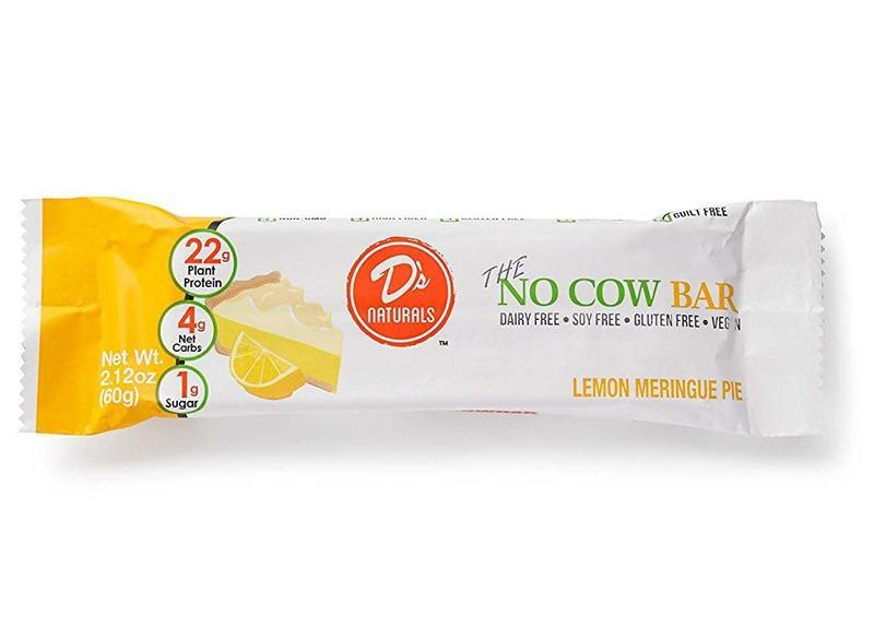 Ds Naturals The No Cow Bar Lemon Meringue Pie