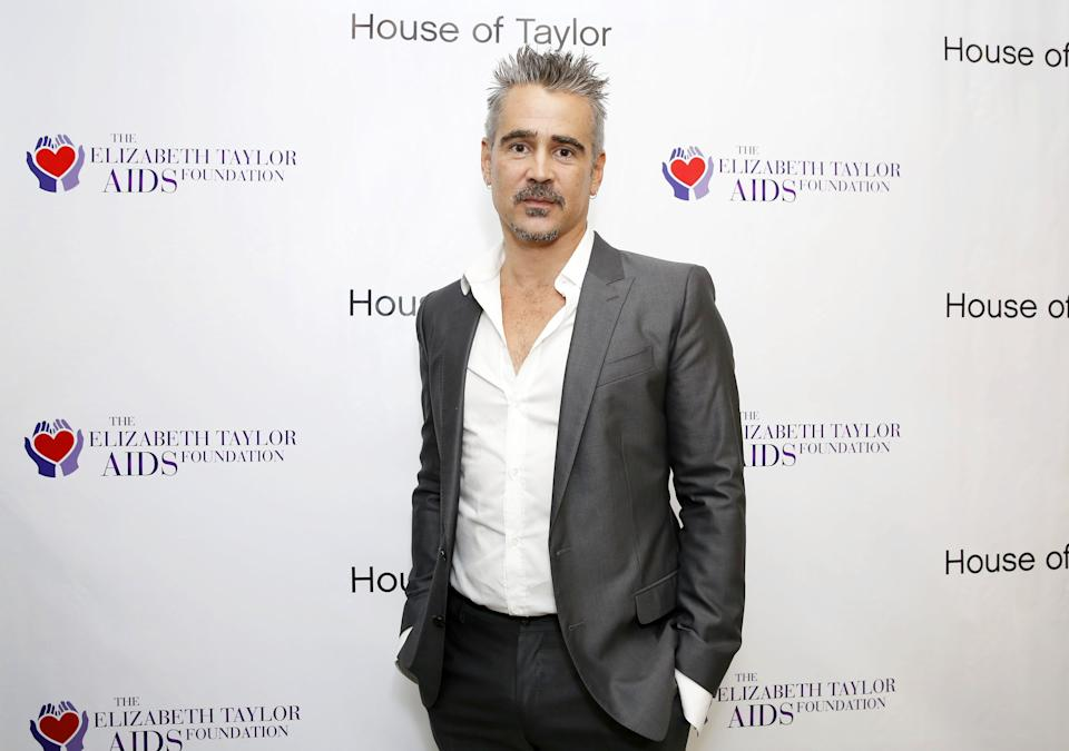 BEVERLY HILLS, CA - AUGUST 07:  ETAF Ambassador and Co-Host Colin Farrell attends the House of Taylor dinner benefitting The Elizabeth Taylor AIDS Foundation at House of Taylor on August 7, 2018 in Beverly Hills, California.  (Photo by Rachel Murray/Getty Images for ETAF)