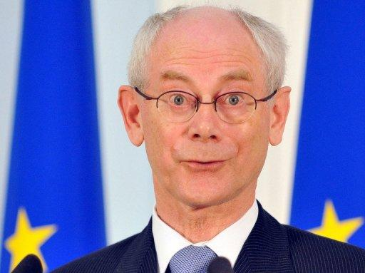 EU President Herman van Rompuy (@euHvR), pictured on July 4, is the best-connected world leader on Twitter, following 11 of his peers -- and being followed by them