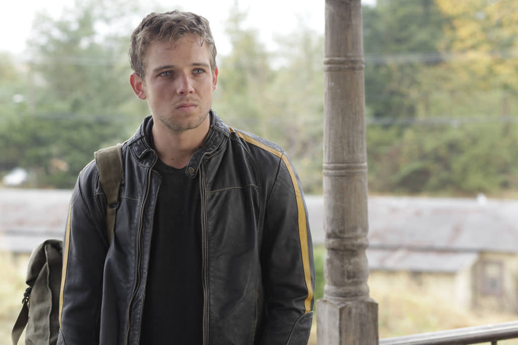 "Max Thieriot as Dylan Massett in A&E's ""Bates Motel"" coming in March 2013."