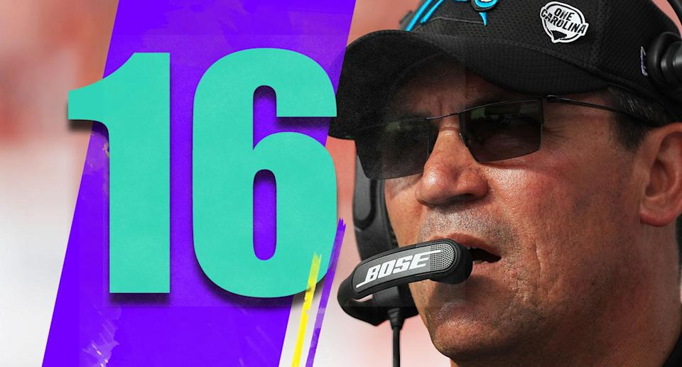 <p>Get ready for a few weeks of discussion on Ron Rivera's job security. The Panthers' season has turned south (though there's still time to save it), but the college football mentality of firing a coach anytime anything goes bad isn't always the right path. (Ron Rivera) </p>