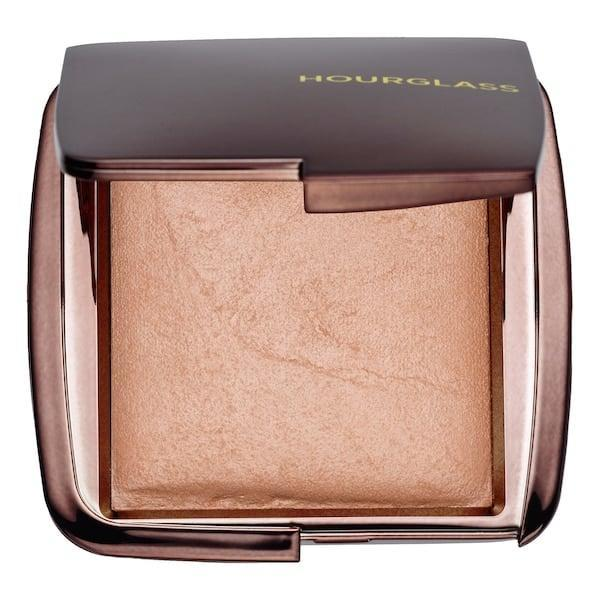 <p>Get that coveted glow with this gorgeous <span>Hourglass Ambient Lighting Powder</span> ($48).</p>