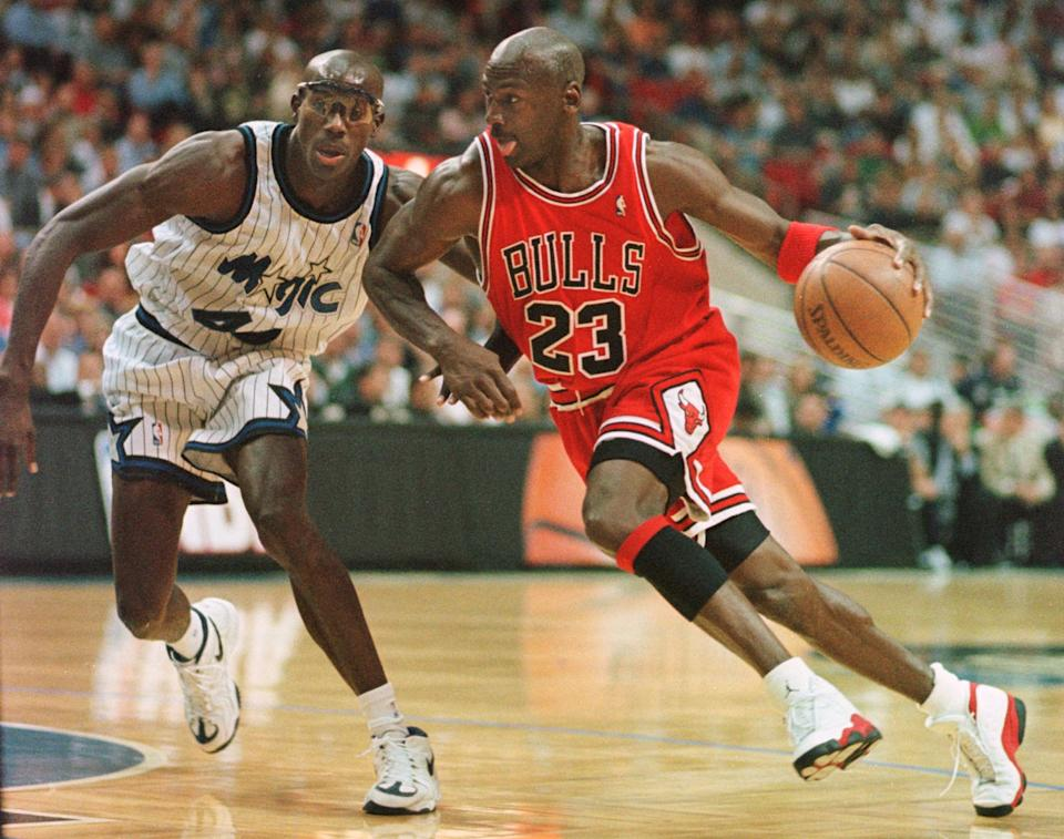 <p>She was named after the NBA legend Michael Jordan. She credits her mother for the awesome name choice. (Photo credit should read TONY RANZE/AFP via Getty Images)</p>