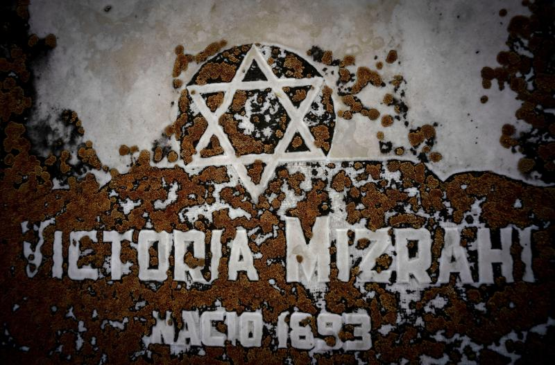 The Star of David decorates a tomb eroded by moss at the Jewish cemetery in Guanabacoa in eastern Havana, Cuba, June 7, 2019. Slowly, the first Jewish cemetery in Cuba is beginning to be rehabilitated, along with the memory of many of the island's early Jewish forebears. (AP Photo/Ramon Espinosa)