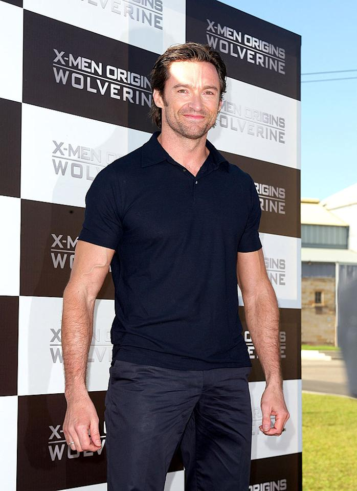 "Hugh Jackman attended the world premiere ""X-Men Origins: Wolverine"" in Sydney on Wednesday. The Aussie actor was ""heartbroken"" after the film was leaked online a month early. Don Arnold/<a href=""http://www.wireimage.com"" target=""new"">WireImage.com</a> - April 8, 2009"