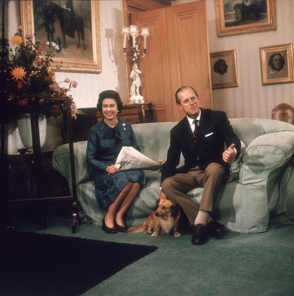 <p>This candid shows another sneak peek of what the royal's residence at Balmoral looks like (or at least what it looked like in 1976).</p>