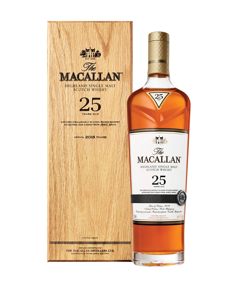 "<br><br><strong>The Macallan</strong> The Macallan Sherry Oak 25 Years Old, $, available at <a href=""https://go.skimresources.com/?id=30283X879131&url=https%3A%2F%2Fwww.reservebar.com%2Fproducts%2Fthe-macallan-sherry-oak-25-years-old"" rel=""nofollow noopener"" target=""_blank"" data-ylk=""slk:ReserveBar"" class=""link rapid-noclick-resp"">ReserveBar</a>"