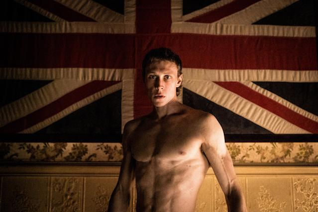 George MacKay as Ned Kelly. (Picturehouse Entertainment)