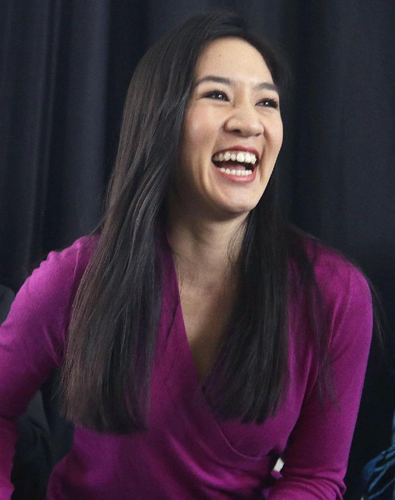 Michelle Kwan honored by Harlem Skating