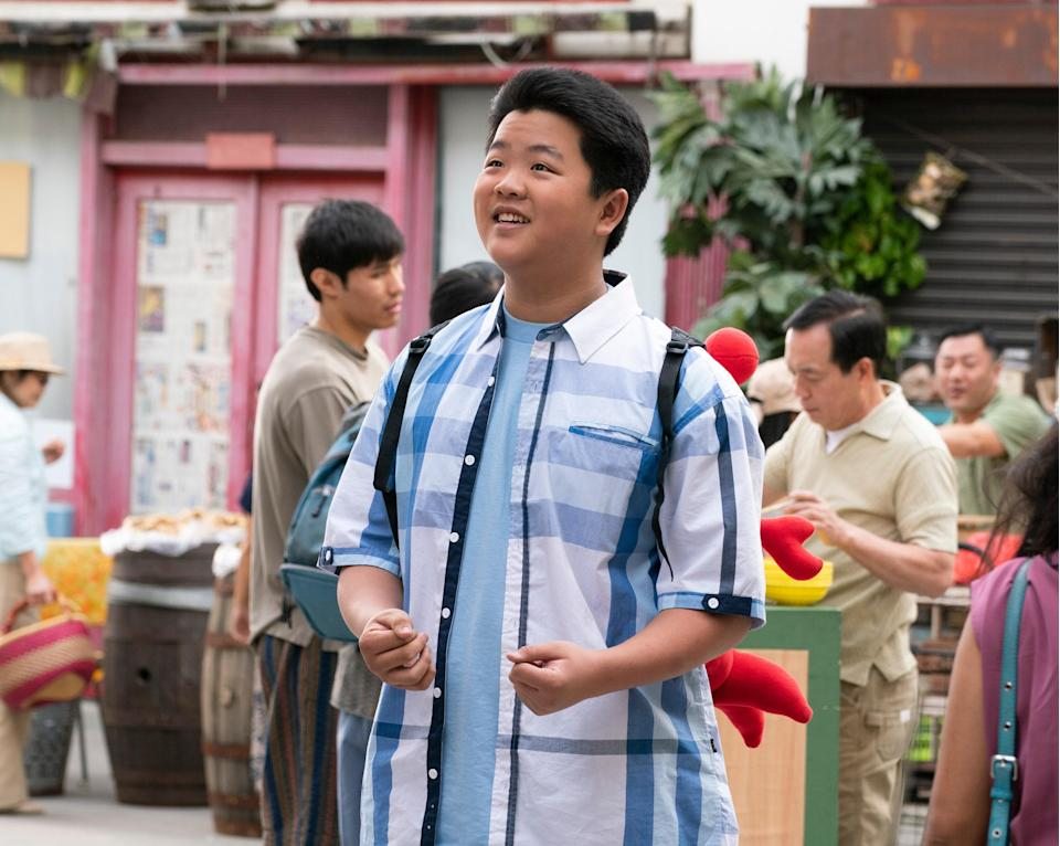 Hudson is the Huangs' eldest child in <em>Fresh Off the Boat</em>. This was Chinese-American's first major acting role. The success of the show is rightfully becoming a platform for Hudson to land more roles, including a guest appearance on Disney's <em>Liv and Maddie</em>.
