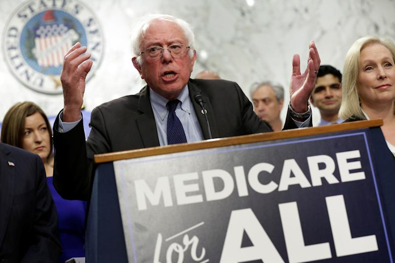 Sanders Insists He'll Pay for 'Every Nickel' of Medicare for All — but Won't Say How Right Now
