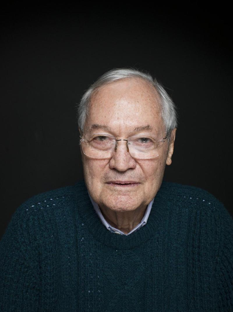 """Producer Roger Corman from the film """"Virtually Heroes"""" poses for a portrait during the 2013 Sundance Film Festival on Sunday, Jan. 20, 2013 in Park City, Utah. (Photo by Victoria Will/Invision/AP Images)"""