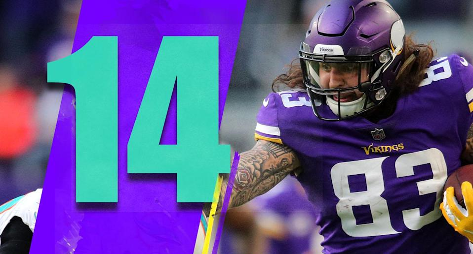 <p>We'll see if the Vikings keep playing this well on offense after firing coordinator John DeFilippo or if Sunday was one of those one-game bounces. But if the Vikings play a few more games on offense like Sunday, that has to reflect poorly on DeFilippo. (Tyler Conklin) </p>