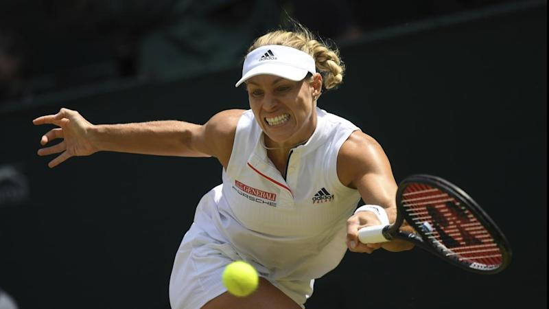 Germany's Angelique Kerber has booked her place in Wimbledon's final after beating Julia Ostapenko