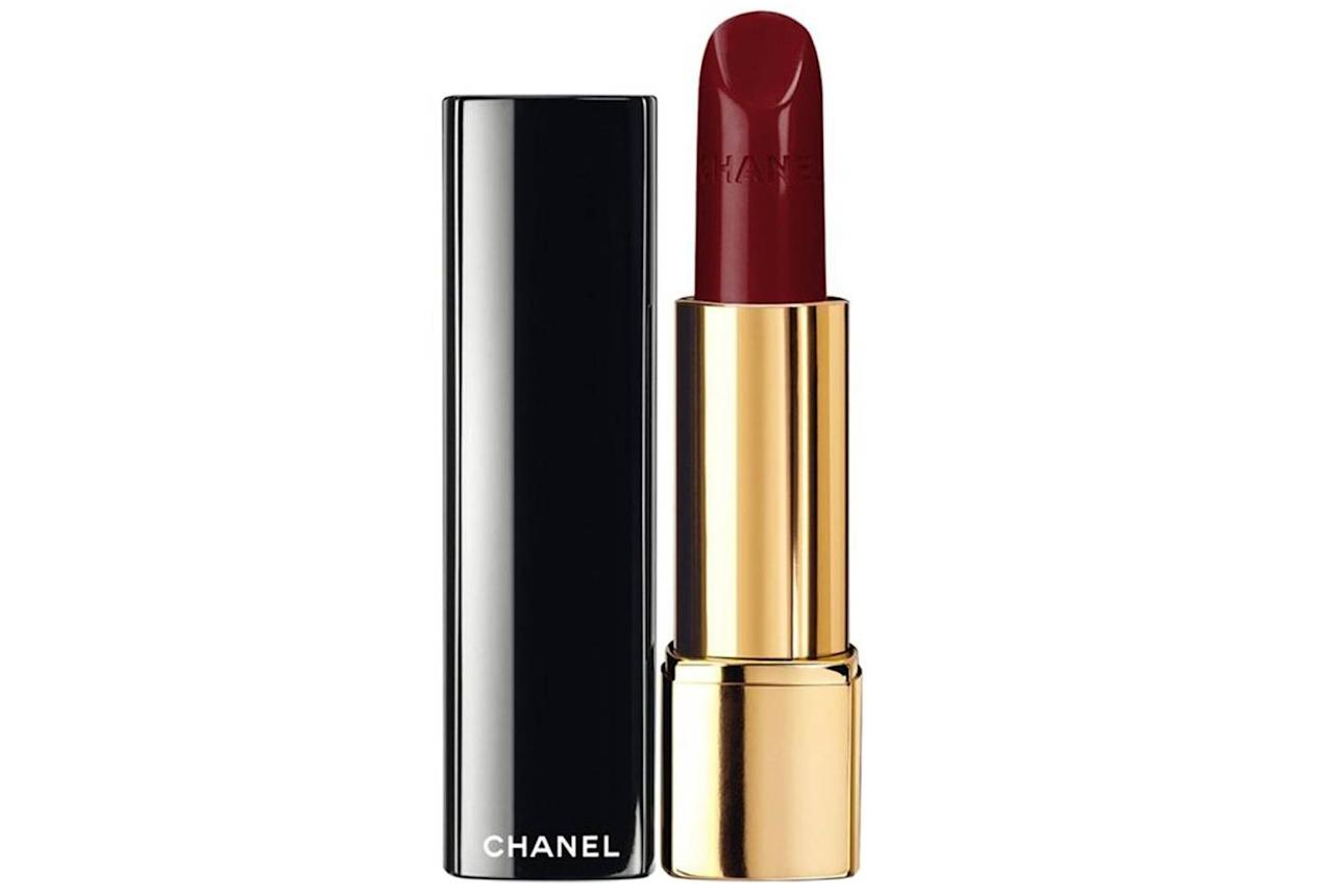 """<p>""""I love Chanel Rouge Allure 247 Ultraberry. I wanted a color that was deeper and bolder than my day-to-day look and this shade is perfect for a pale gal like me! Also the magnetic case keeps it from popping open in a handbag or clutch. Plus, it's moisturizing!"""" —<em>Leslie Yazel, editor-in-chief</em></p> <p><strong>To buy:</strong> $38; <a href=""""https://click.linksynergy.com/deeplink?id=93xLBvPhAeE&mid=1237&murl=https%3A%2F%2Fshop.nordstrom.com%2Fs%2Fchanel-rouge-allure-luminous-intense-lip-colour%2F3364238&u1=RS%2CTheseAreOurEditors%25E2%2580%2599All-TimeFavoriteLipsticks%2Cparibindi1271%2CMAK%2CIMA%2C543652%2C201907%2CI"""" target=""""_blank"""">nordstrom.com</a>.</p>"""