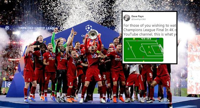 Viewers were left furious with the BT Sport stream of the Champions League final