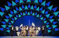 An American In Paris at the Dominion theatre, London, in 2017.