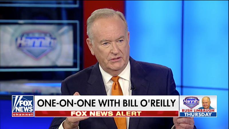 Last month, Bill O'Reilly returned to Fox News to be a guest on Sean Hannity's show.