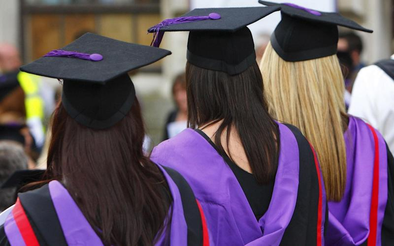 Graduates have an average debt of £50,000 - PA