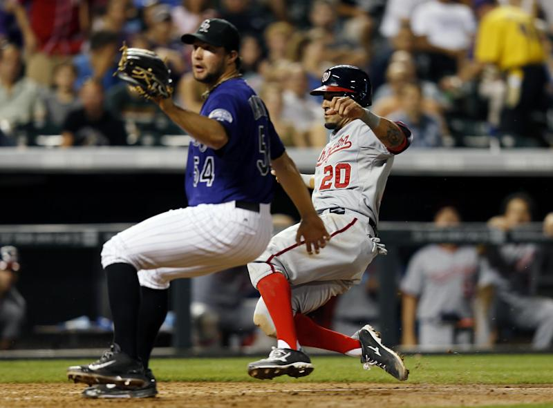 Desmond lifts Nationals to 7-2 win over Rockies