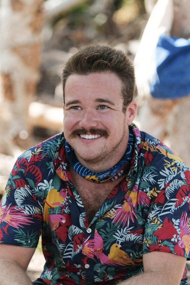 Zeke Smith on <em>Survivor: Game Changers</em>