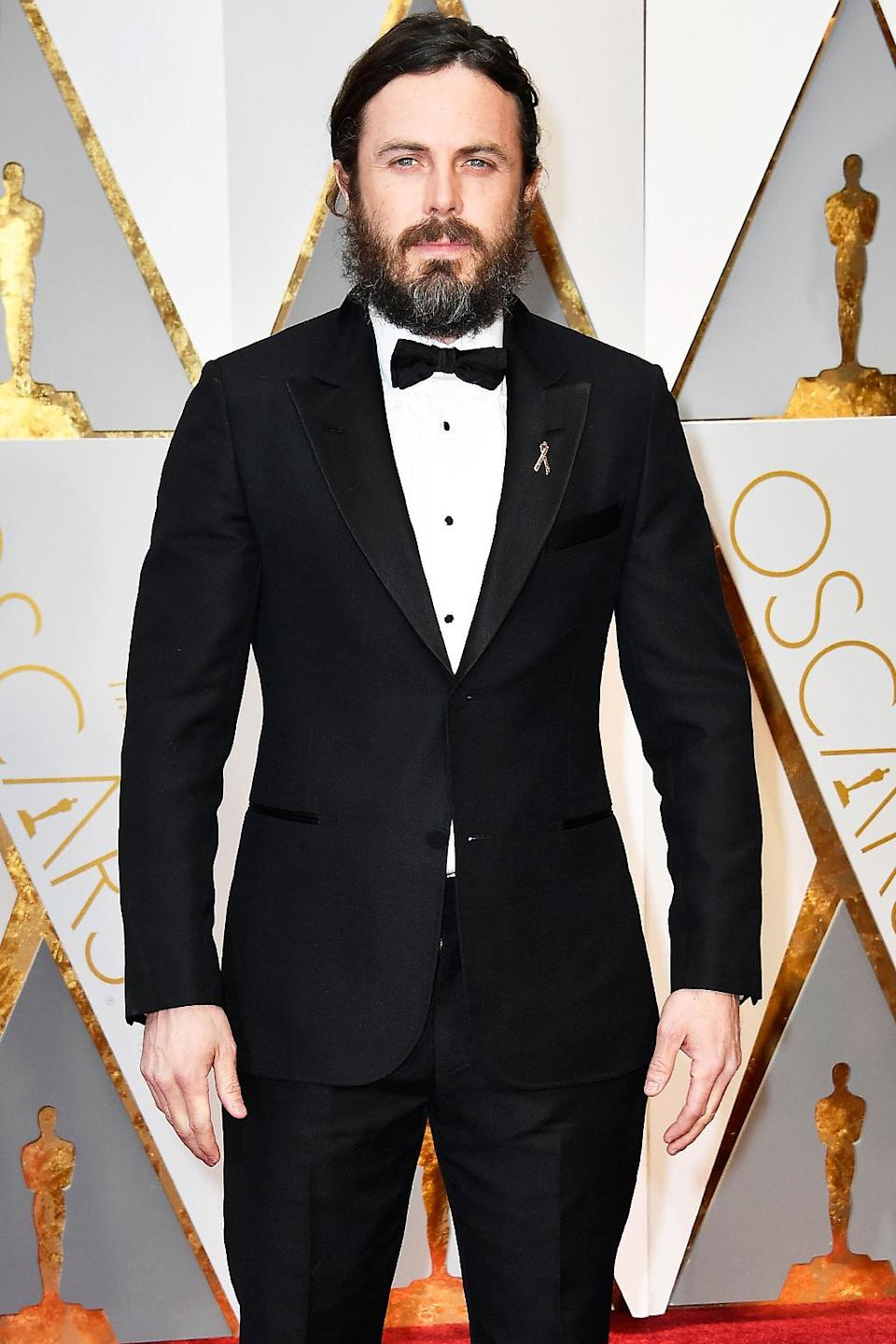 <p>Actor Casey Affleck attends the 89th Annual Academy Awards at Hollywood & Highland Center on Feb. 26, 2017. (Photo by Frazer Harrison/Getty Images) </p>