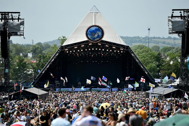 Cancelled: Glastonbury is one of the major events postponed in 2020 (Getty Images)