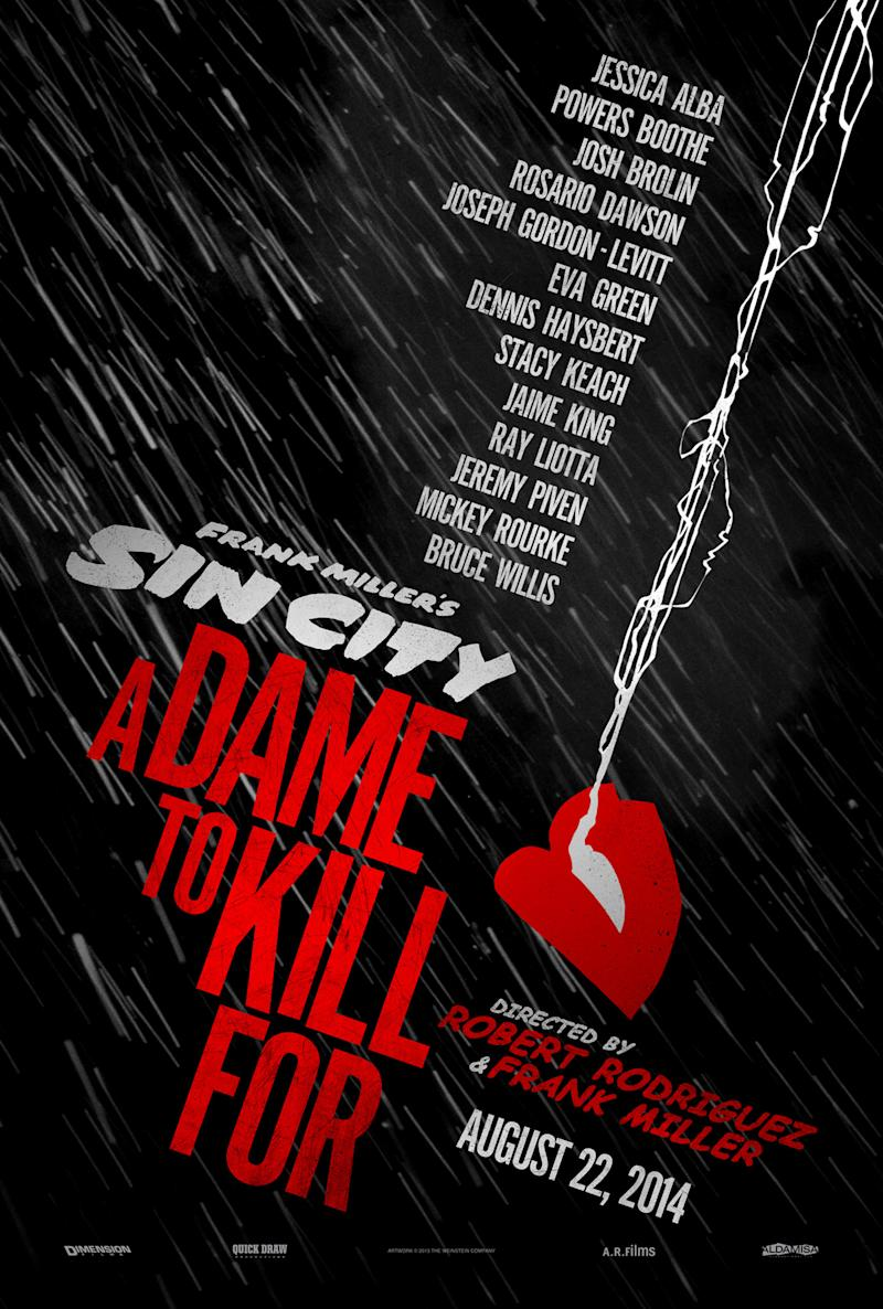 Dimension Films' 'Sin City: A Dame to Kill For'