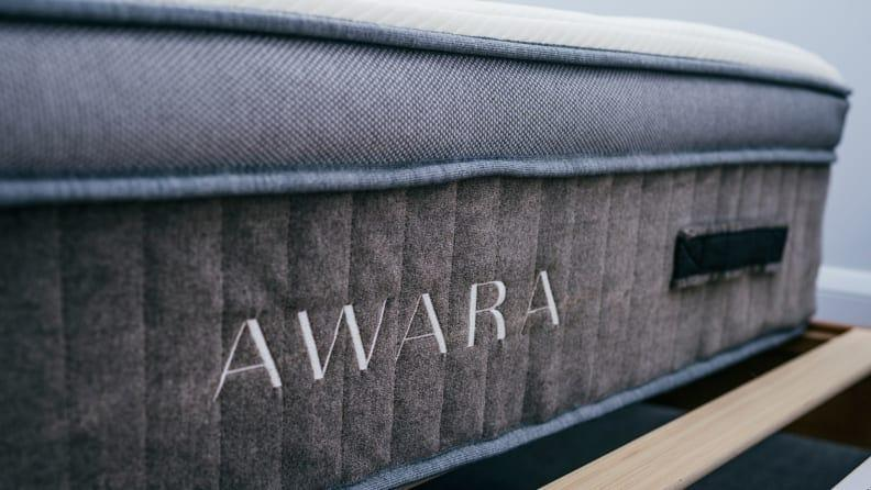 The Awara Mattress has great edge support and a firm, but comfortable, sleep surface.