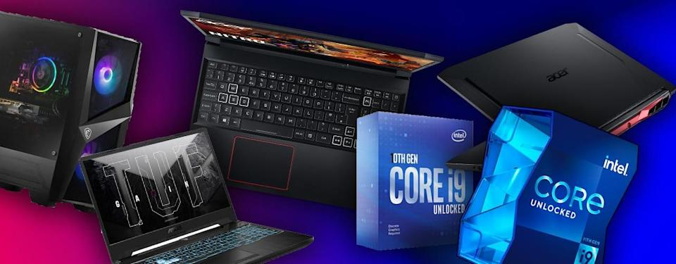 gaming computers and CPU