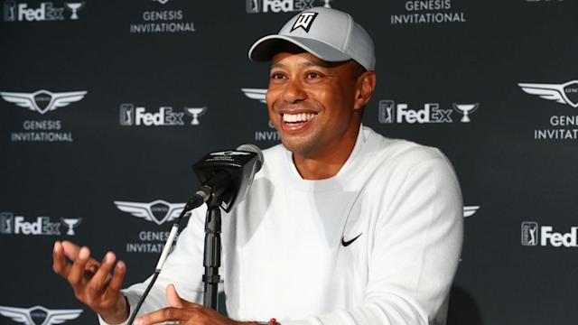The Premier Golf League has contacted Tiger Woods, who is investigating the proposed 18-event season that would include a team element.
