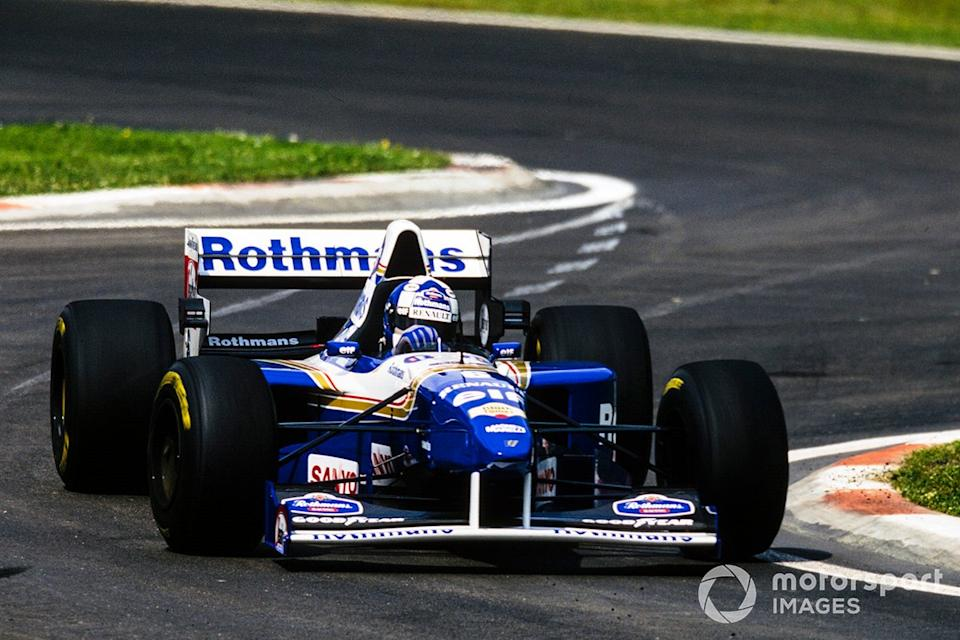 """David Coulthard, Williams FW17 Renault<span class=""""copyright"""">Motorsport Images</span>"""