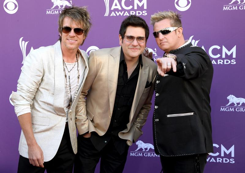 RASCAL FLATTS, Live from the RAM Red Carpet, 47th Annual ACM Awards, Las Vegas, NV