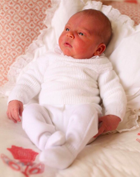 <p>To mark Prince Louis of Cambridge's birth, the Duke and Duchess of Cambridge shared two images of the royal tot. Taken by the Duchess of Cambridge at Kensington Palace, the mother-of-three thanked members of the public for their kind messages. <em>[Photo: Duchess of Cambridge/Instagram]</em> </p>
