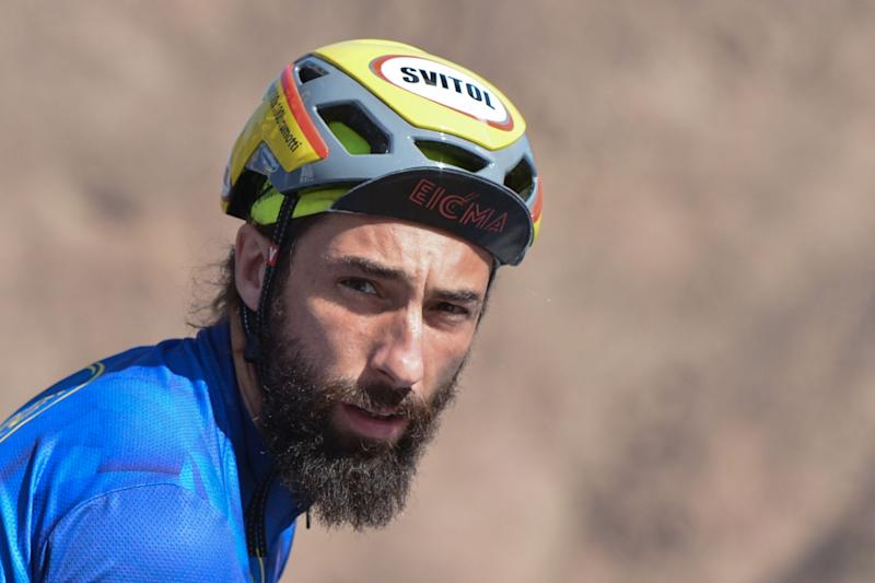 Vittorio Brumotti, an Italian bike trial champion, during Dubai Tour 2018. On Saturday, February 10, 2018, in Dubai, United Arab Emirates. (Photo by Artur Widak/NurPhoto via Getty Images) (Photo: NurPhoto via Getty Images)