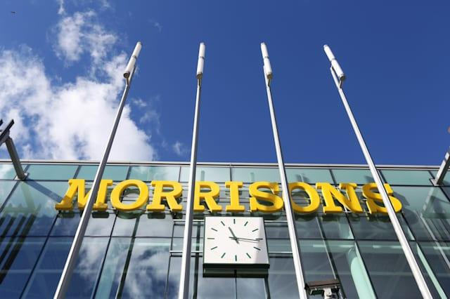 Inside A Morrisons Supermarket Ahead Of Preliminary Results
